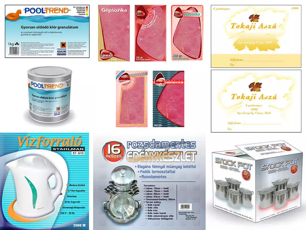 Commercial art - packaging